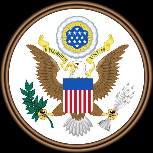 Siegel der USA, Vorderseite