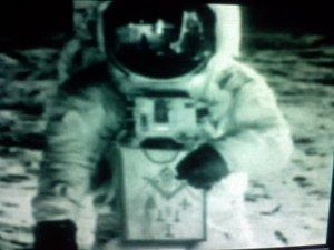 1969NeilArmstrongonMoonMasonapron