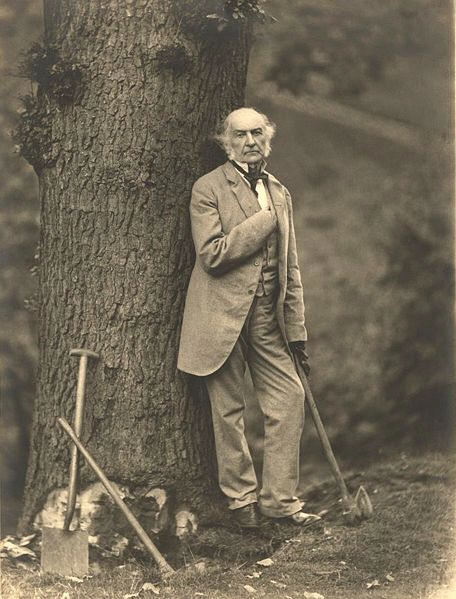 William Ewart Gladstone (b. 1809 – d. 1898) British Liberal Party statesman and four times Prime Minister of the United Kingdom (1868–74, 1880–85, 1886 and 1892–94).