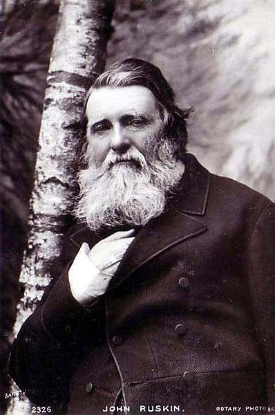 John Ruskin (b. 1819 – d. 1900) Tutor to illuminated students such as Cecil Rhodes. Advocated a world empire. Spent his later years in an insane asylum. Rumored to have been a pedophile
