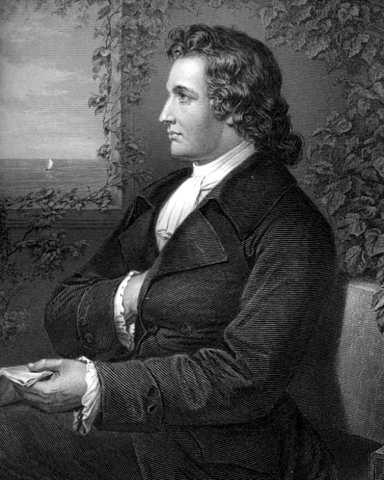 Goethe (b. 1749 – d. 1832)