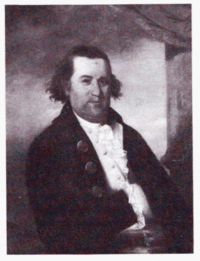 William Dawes (1745-1799). Freemason [14] and one of the three men who alerted colonial minutemen of the approach of British army troops prior to the Battle of Lexington and Concord. British POWs from the Battle of Saratoga complained to Parliament that he gave them short supplies