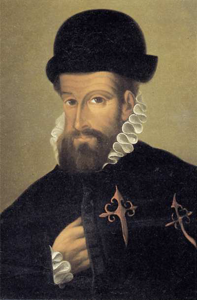 Francisco Pizarro (1471-1541). Spanish conquistador and murderer of indigenous peoples in South America