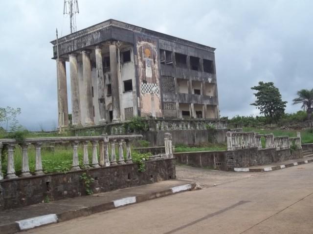 Freimaurergebäude in Harper, Liberia