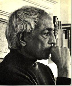 """""""(J. Krishnamurti) ist nicht so fortgeschritten wie manche denken. Er tut gutes, und eines Tages wird er zu mir kommen. Ich werde ihm helfen."""" - Meher Baba"""